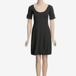 Columbia black travel dress athleisure packable L